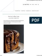Mocha Coffee Cake
