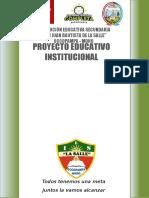 PROYECTO EDUCATIVO INSTITUCIONAL 2018