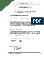1.0 Resumen Ejecutivo Daniel Estrada