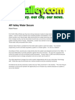 Ar Valley Writing Samples