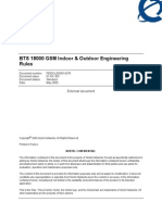 BTS 18000 GSM Indoor Outdoor Engineering Rules