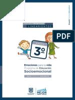Socioemocional docente 3o