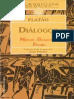 Platão - Diálogos de Platão - Menon, O Banquete, Fedro (1996, Ediouro)-compressed