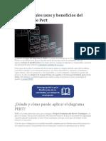 Principales Usos y Beneficios Del Diagrama de Pert