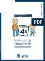 Socioemocional docente 4o