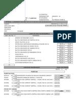 Lista de materiales orona
