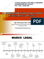 La Educación Física en El Perú