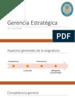 Gerencia Estratégica - Sem.01 - LUIS OTAKE - UNPRG - SISTEMAS