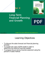 FCFChap004 - Financial Forecasting and Planning