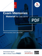 PTE Prediction Material July - 2019
