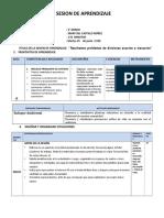 "SESION DE APRENDIZAJE DE MATEMATICA  Resolvemos problemas de divisiones exactas e inexactas"".docx"