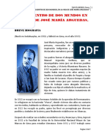 159306992 El Encuentro de Dos Mundos en La Vida de Jose Maria Arguedas