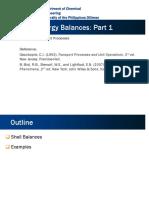 131.10a Shell Energy Balance