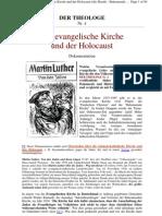 Ev. Kirche Und Holocaust (Der Theologe 4)