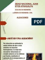 ALEACIONES-ppt