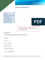 Integracion de Funciones Trigonométricas