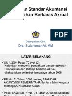 Penerapan Standar Akuntansi Pemerintah bbasis Akrual.ppt