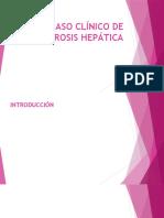Caso Clínico de Cirrosis Hepática