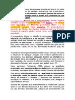 Comentários ao Livro Temas da Psicologia Tomista.docx