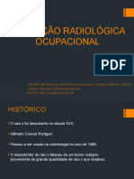 PROTEÇÃO RADIOLÓGICA OCUPACIONAL
