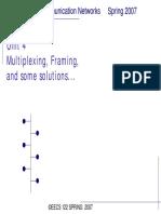 Multiplexer Frame- Sdh Sonet