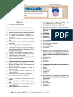 Examen Psicologia 5 b - Unidad IV - Fii