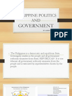 Philippine Politics and Government