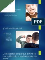 Conductas inadecuadas en niños del pre - escolar.pptx
