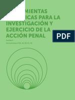 Herramientas Analiticas para la investigación y ejercicio de la acción penal
