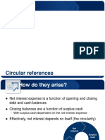 Circular References