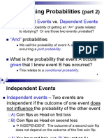 Section 6.5 Combining Probabilities Pt2