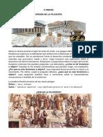 Religión, Filosofía y Ética Filosofía y Actitud Filosofica