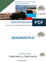 DESNUTRICON PEDIATRIA
