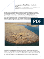 Archaeologists Uncover Palace of the Mittani Empire in Iraqs Kurdistan Region