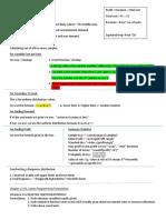 Review Sheet for Exam