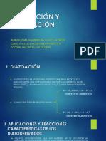 DIAZOTACIÓN - COPULACION