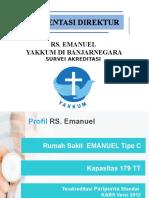 Presentasi Direktur Rs Emanuel