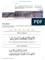 6 Kalimas of Islam with English Translation.pdf