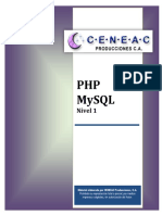 Php Mysql Nivel 1