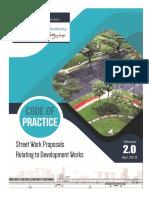 LTA Code of Practice Street Work Proposals to Development Works (Ver. 2019)