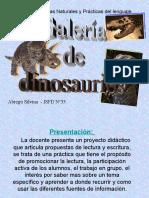 Proyecto Galería de Dinosaurios