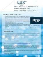 LSAA Job Poster Advert_Dimsum Chef23.07.19