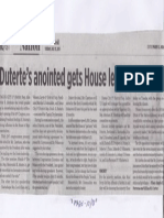 Business World, July 23, 2019, Duterte's anointed gets House leadership post.pdf