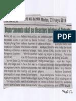 Hataw, July 23, 2019, Department ukol sa disasters iniutos ni Duterte.pdf