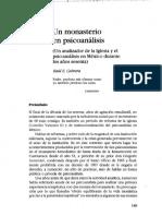 LOS DOS PSICOANALISTAS QUE HICIERON PSICOTERAPIA GRUPAL EN EL CONVENTO DE CUERNAVACA MEXICO..pdf