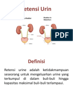 Retensi Urin