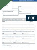 Student Application FormV4