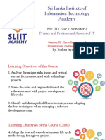 Introduction to the Information Technology Project (2)