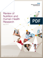 Review of Nutrition and Human Health_final