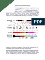 4.- Espectro electromagnético